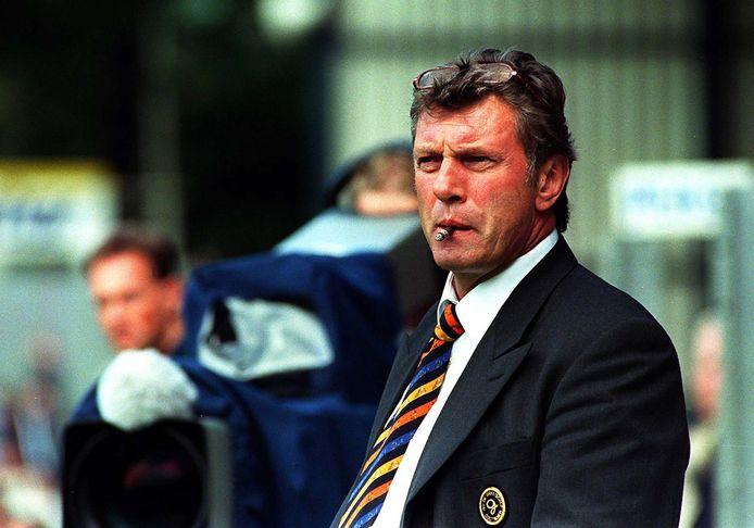Fritz Korbach als trainer van De Graafschap.