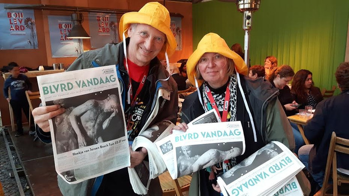 Henk en Yvonne van Abeelen uit Schijndel brengen elke dag de Blvrd Vandaag rond