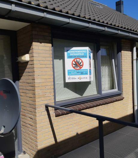 Hennepkwekerij ontdekt in Hengelo, één persoon aangehouden