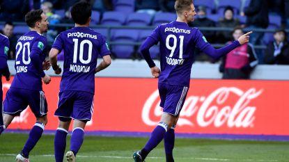Herbeleef hoe Anderlecht een bonus van 4 doelpunten bijna uit handen gaf