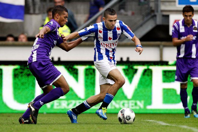Assaidi in actie namens Heerenveen in 2011. Beeld anp