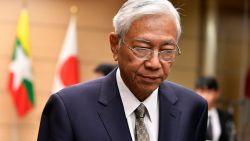 President Htin Kyaw van Myanmar zet verrassend stap opzij