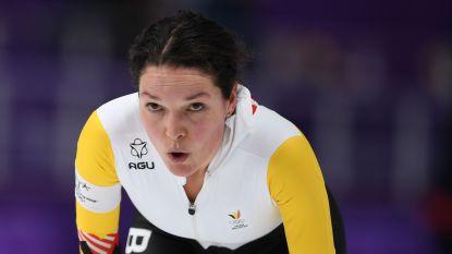 Zorgen bij Jelena Peeters: Belgische is na eerste dag voorlaatste op WK allroundschaatsen en spoeit zich na finish naar toiletten