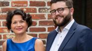 Gemeenteraadsleden Sabien Lahaye-Battheu en Bram Meeuw op West-Vlaamse Open Vld-lijst