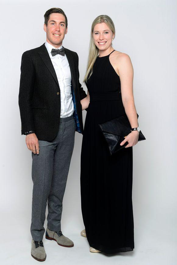 Jelle Wallays en vriendin Vé David