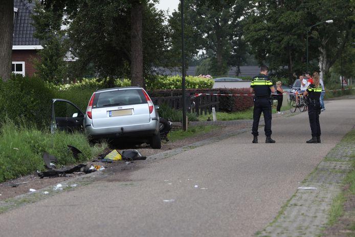 Motorrijder gewond na ongeluk met auto in Veghel.