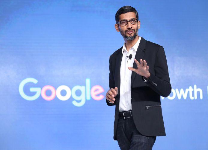Sundar Pichai, ceo van Google en moederbedrijf Alphabet pleit ervoor om kunstmatige intelligentie te reguleren.