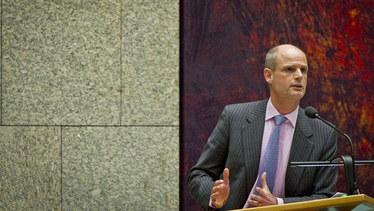 VVD-fractievoorzitter en Stef Blok. Beeld ANP