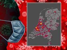 Coronatool brengt goed nieuws: waar daalt het aantal besmettingen in jouw regio?