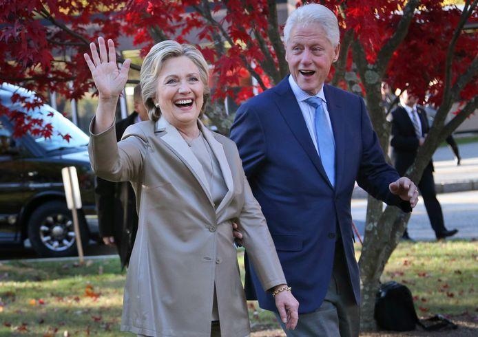 Bill en Hillary Clinton in 2016.