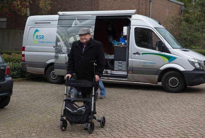 Jelle Berends, voorzitter Gehandicaptenraad Doesburg.