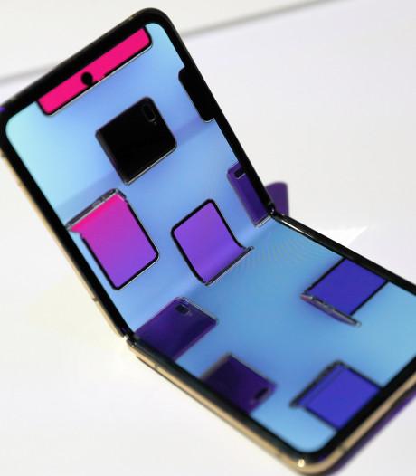 Samsung kan ook smartphoneschermen maken die meerdere keren dubbelvouwen