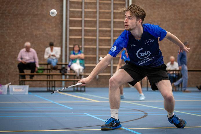 Archiefbeeld: Smashing badminton.