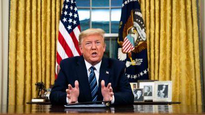 Alles voor z'n herverkiezing: Trump gaat in overdrive met reisbeperking Europa