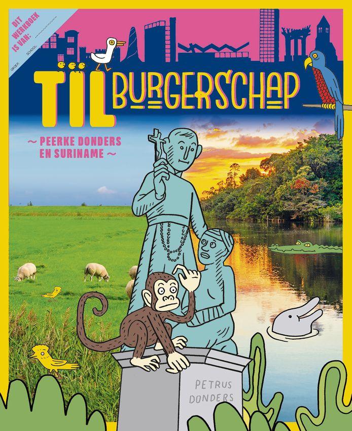 Omslag van het werkboekje 'TILburgerschap'.