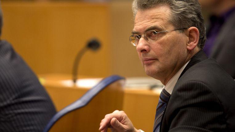 Tweede Kamerlid Roelof Bisschop (SGP). Beeld anp