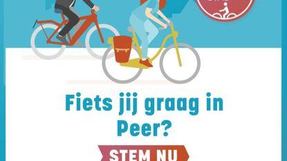 Peer doet (nieuwe) gooi naar titel 'Fietsstad 2020'