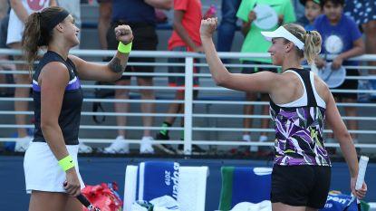 Medvedev voorbij Wawrinka naar halve finales US Open - Elise Mertens bereikt halve finale dubbelspel