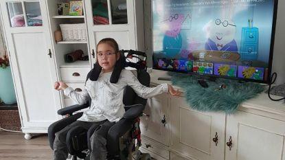 Nederlandse agenten betalen na inbraak zelf mee nieuwe tv voor gehandicapt meisje