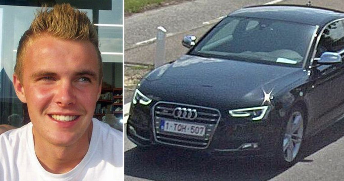 De vermiste Rik Dries uit België.