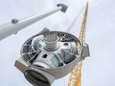 Groen licht voor bouw van laatste twee windturbines op Neeltje Jans