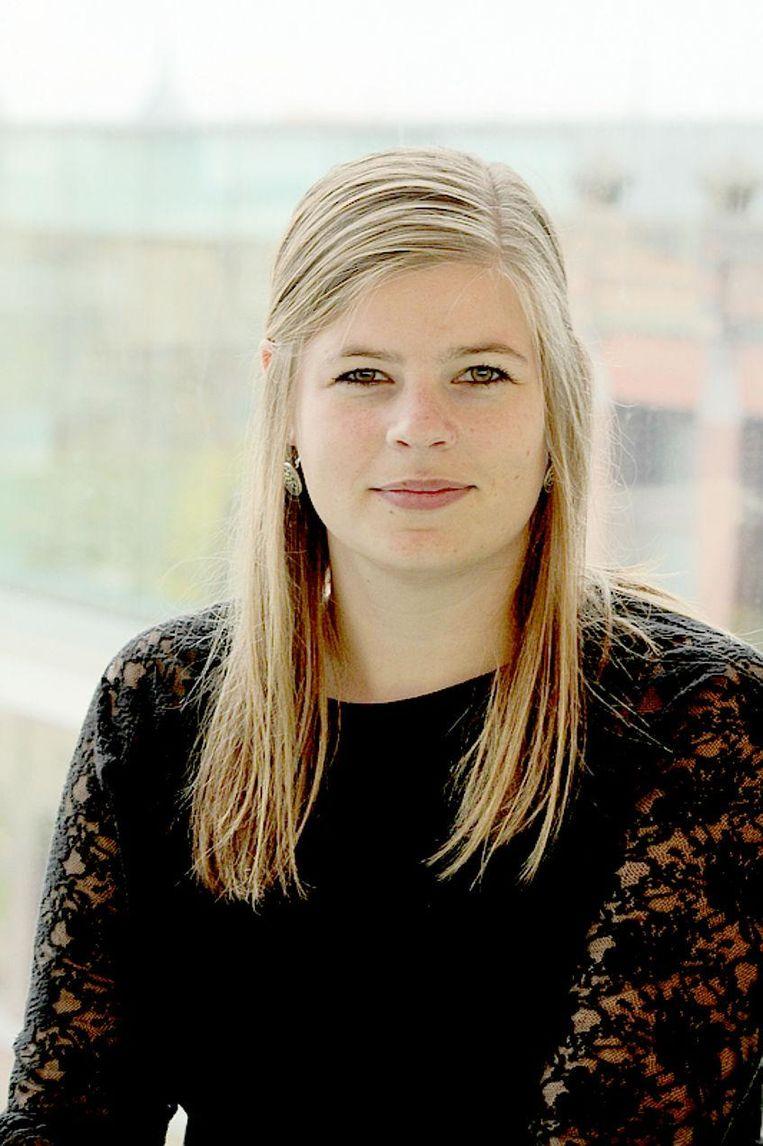 Loes Aaldering: 'Kranten zijn minder geïnteresseerd of vrouwelijke politici goed scoren op leiderschap' Beeld null