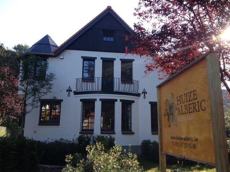 Huize Alberic aan de Kapellensteenweg.