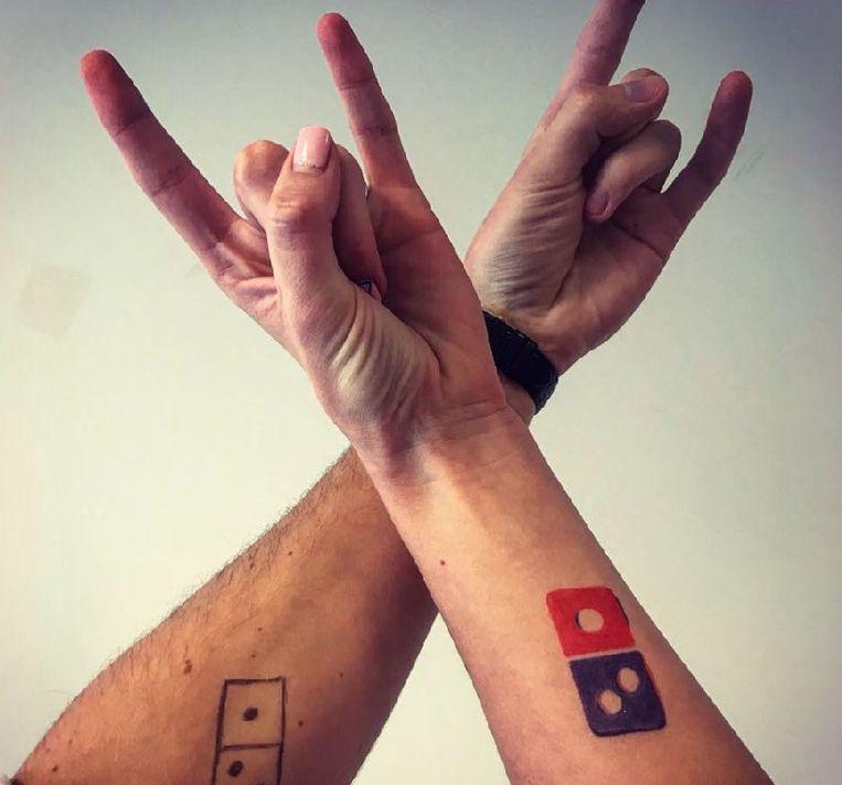 Beste Tattoo-actie van Russische Domino's Pizza loopt uit de hand QL-99