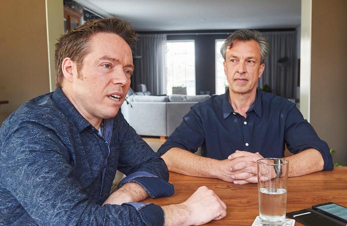 Mathieu de Klein (Progressief Landerd) en Roland Werring (RPP) blikken terug.