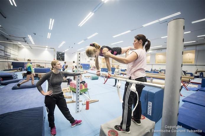 TON traint elke dag in de topsporthal van de IISPA.