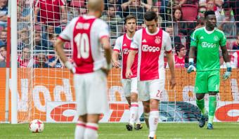 Tekortkomingen zijn opnieuw talrijk bij dolend Ajax
