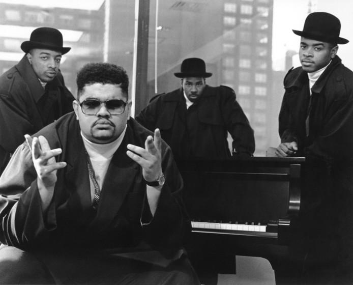 Met The Boyz, omstreeks 1990.