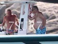 Le prince Laurent en vacances avec Charles de Bourbon-Siciles