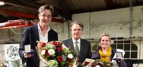 Joks Janssen en Mijntje Notermans ontvangen commissarispenning