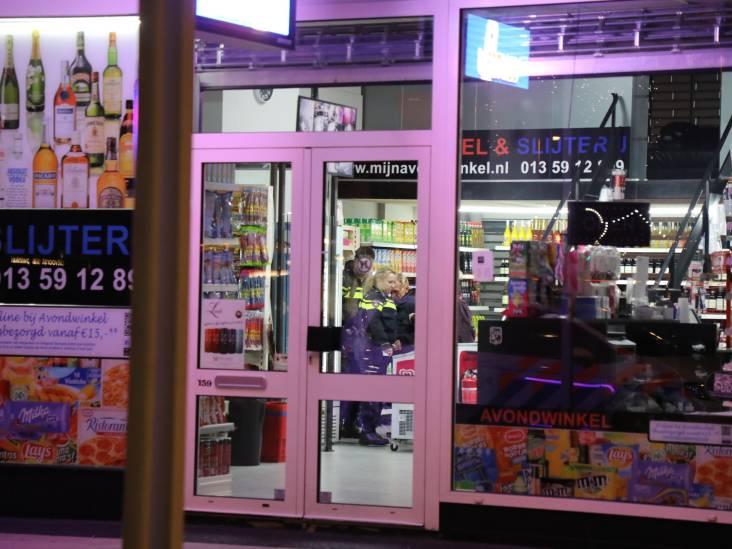 Overval op avondwinkel in Tilburg mislukt, personeel werkt overvallers buiten