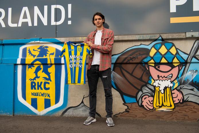 Nieuwe speler RKC Nando Nöstlinger