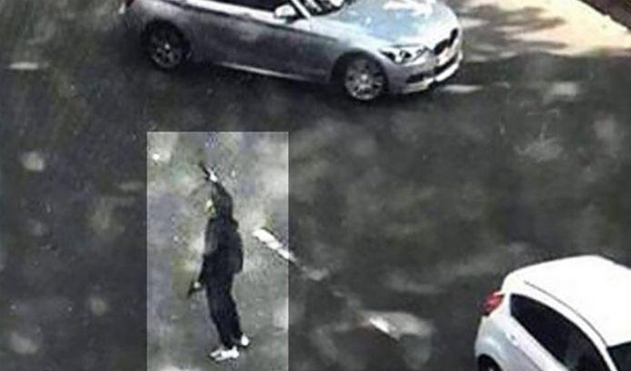 De dader voor hij zelf werd neergeschoten