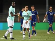 L'Inter Milan et Lukaku partagent à l'Hellas Vérone et quittent le podium