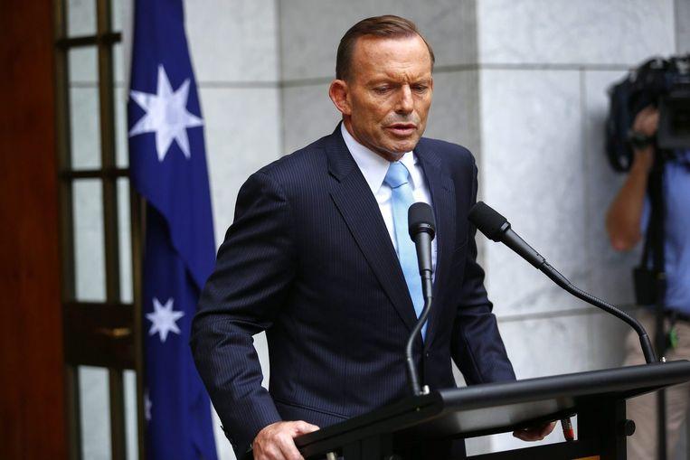 De Australische premier, Tony Abbott. Beeld reuters