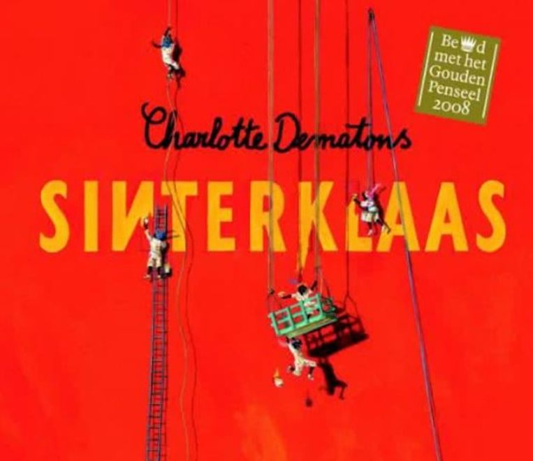 'Sinterklaas', het prentenboek van de Nederlandse schrijfster Charlotte Dematons.