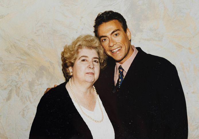 Met Jean-Claude Van Damme.
