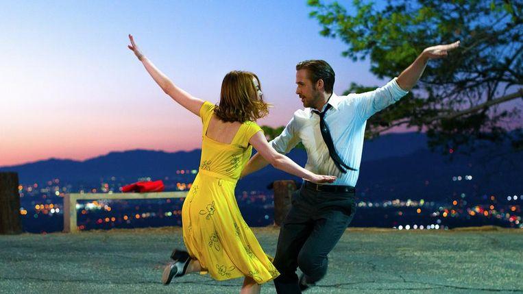 Emma Stone en Ryan Gosling in La La Land. Beeld BagoGames/Flickr/Creative Commons