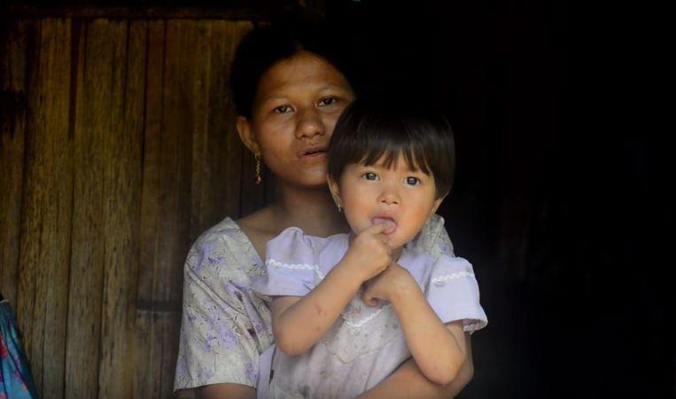 """""""De compositie van de melodie komt recht uit mijn hart"""", zegt Pyndaplin Shabong (foto), een moeder van drie kinderen. """"Het drukt mijn liefde en vreugde om de baby uit"""", zegt de 31-jarige vrouw."""