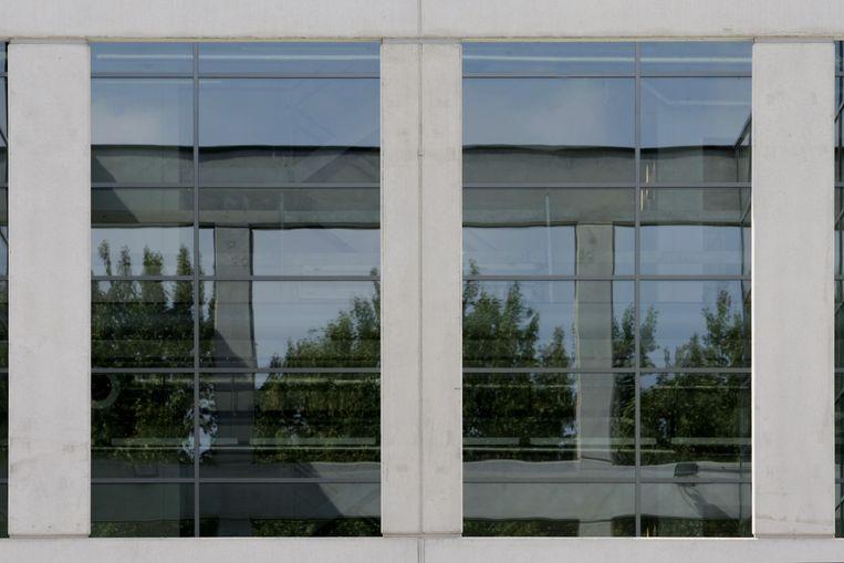 Het buitenaanzicht van het depot van het Stedelijk Museum in Amsterdam. Beeld anp