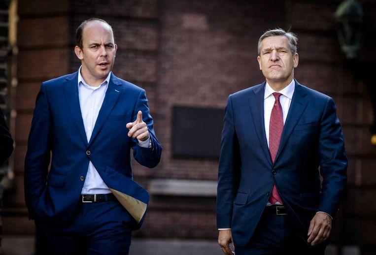 Bart van den Brink (links). Beeld ANP