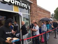 Domino's gaat een uur lang gratis pizza's weggeven
