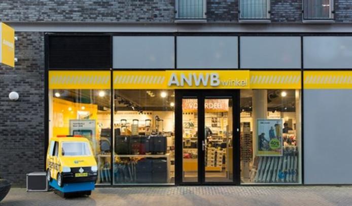 ANWB in Stationsstraat Almere Reclamefolder