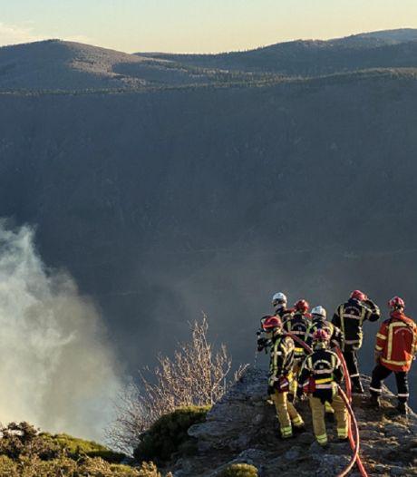Brandweerman na bosbrand Mont Aigoual: 'Bang voor komst Tour de France'