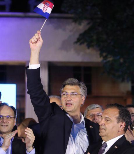 Ruime verkiezingswinst conservatieve premier Kroatië