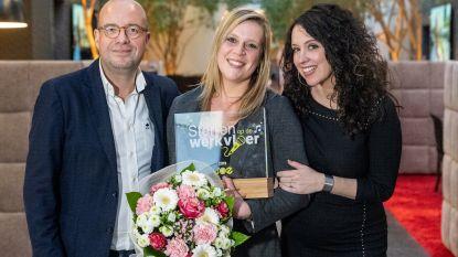 Zingende hoofdverpleegkundige Lynn Van Hoof (26)  wint Sterren op de Werkvloer van Joe FM